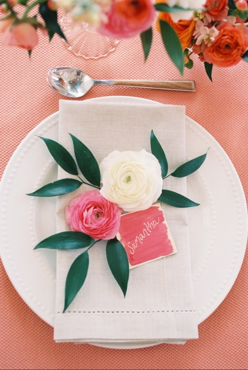 Galentines place setting